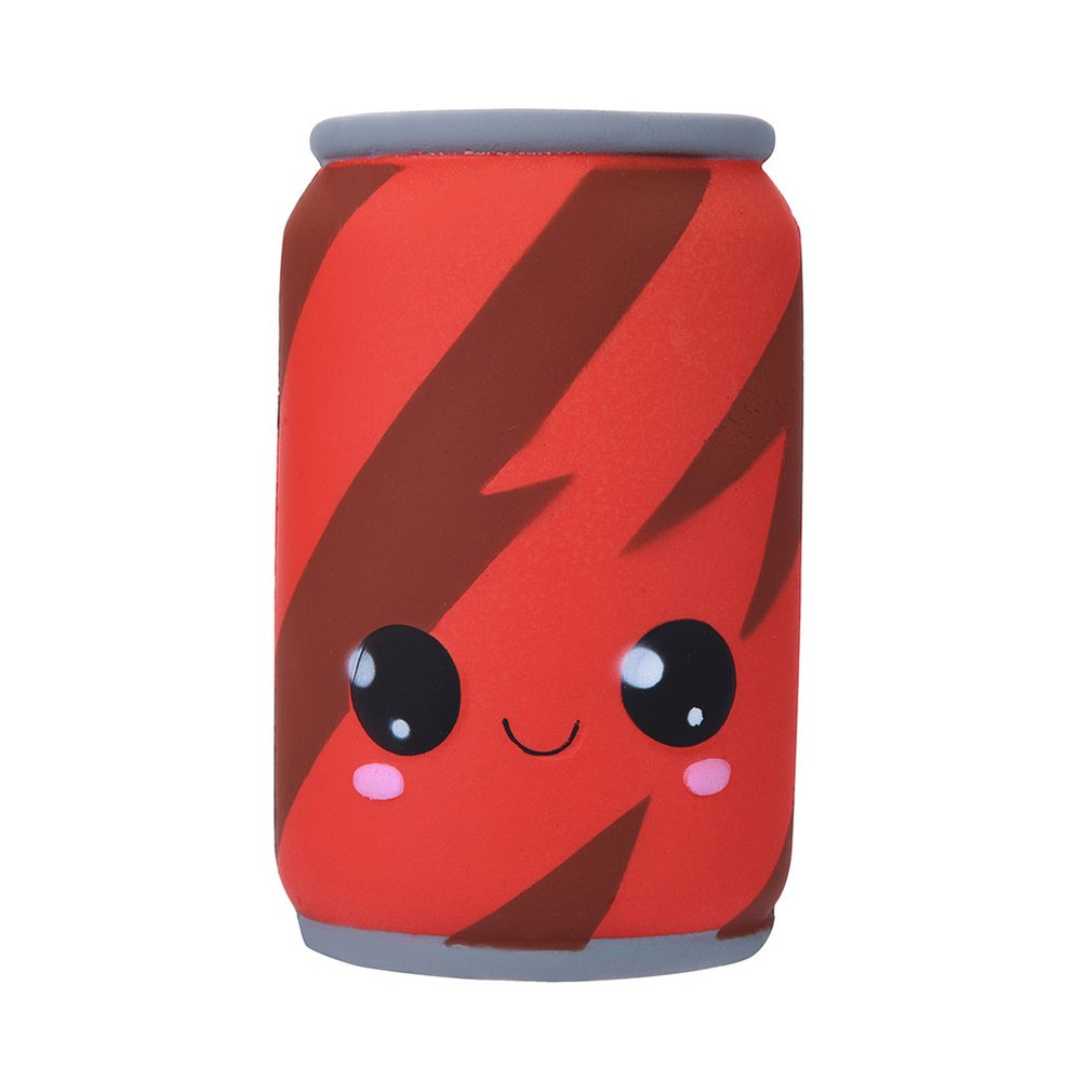 Cute Slow Rising Kid Collection Squeeze Stress Relieve Anxiet Gift Toys Can Of Cola Squishy Simulation Toy