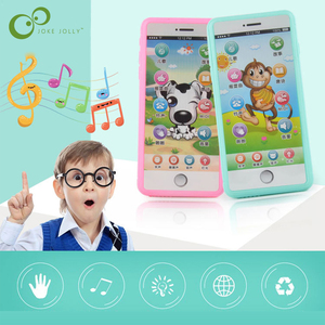 Baby Multi-function Simulated Mobile Phone Touch Screen Music Story Poetry kids Baby Toy Puzzle Early Education Machine Gift ZXH(China)
