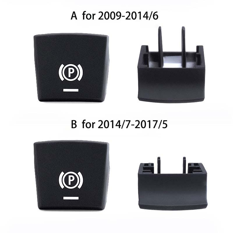 Color Name : New Black Set Electronic Parking Brake Switch Auto H Button Replacement for BMW 5 7 X3 X4 X5 X6 F Series F01 F02 F10 F18 F12 F15 F16 F25 F26