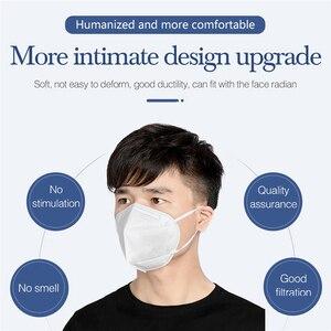 Тушь для ресниц Антивирусная Больничная маска для лица пыль Личная забота о здоровье многоразовые маски фильтр 5 слоев моющаяся маска