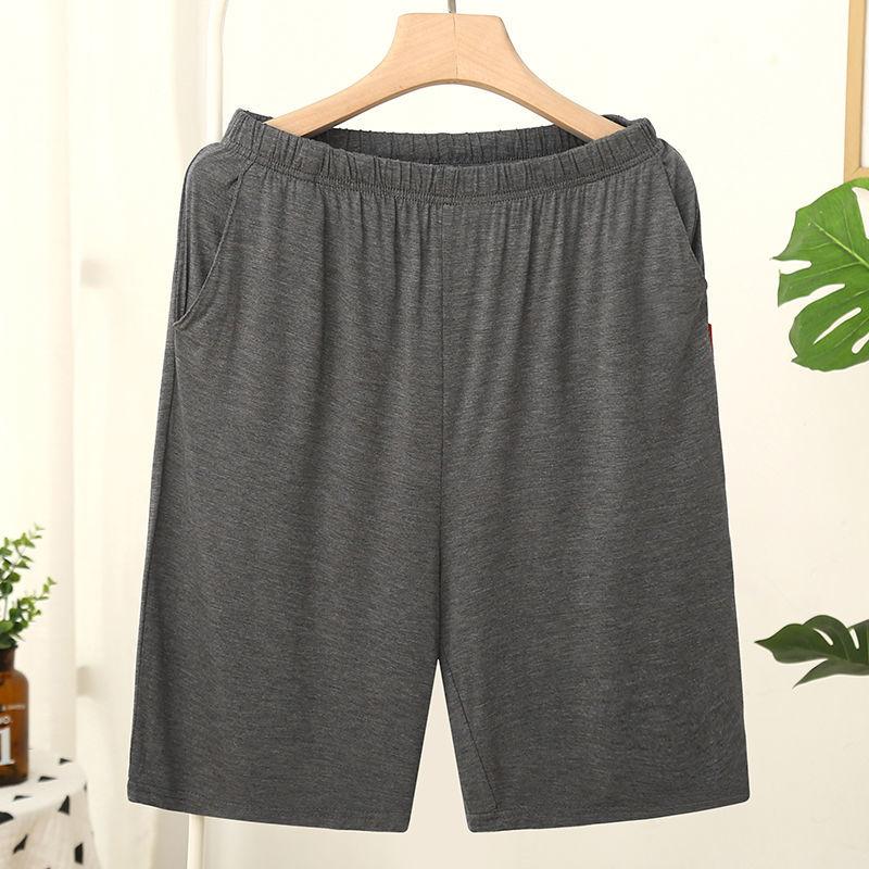 Homme Short Mens Jogging Casual Sweatpant Men Plus Size 6XL Breathable Home shorts Beach Solid Cotton Shorts Men Striped Panties 2