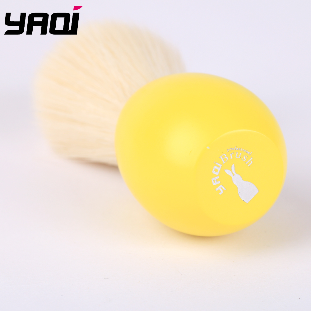 Yaqi Bunny Tuxedo Knot Shave Brush In Yellow Version For Easter Day