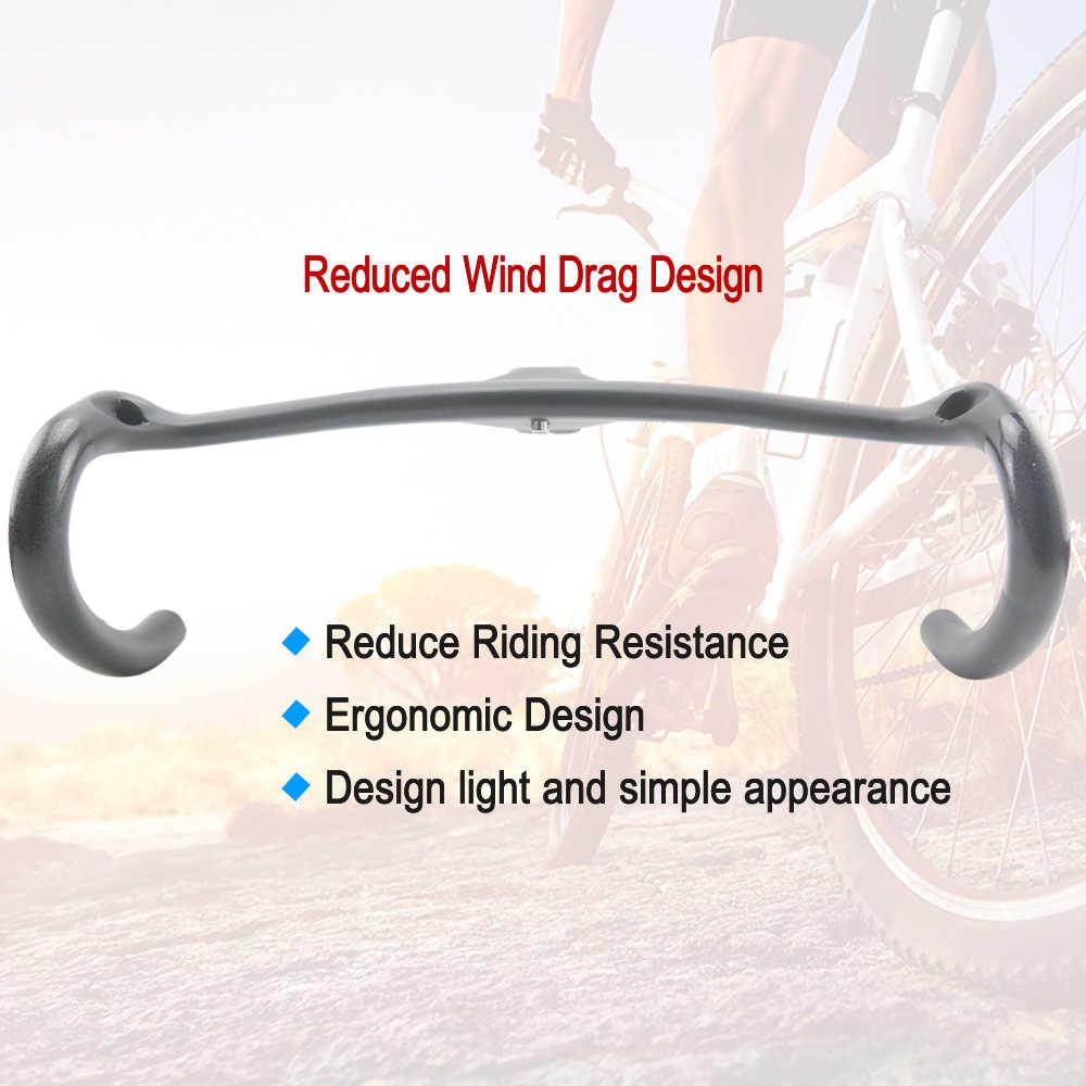 RXL SL carbón fibra integrado manillar de bicicleta de carretera carbono manilla negro UD mate Drop Handlebars con tallo/400/420/440mm