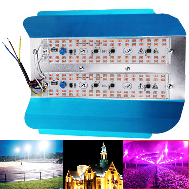 220V 110V Светодиодный прожектор светильник 50 Вт 100 Вт отражатель светильник Водонепроницаемый IP65 Точечный светильник наружное настенное освещение теплый холодный белый
