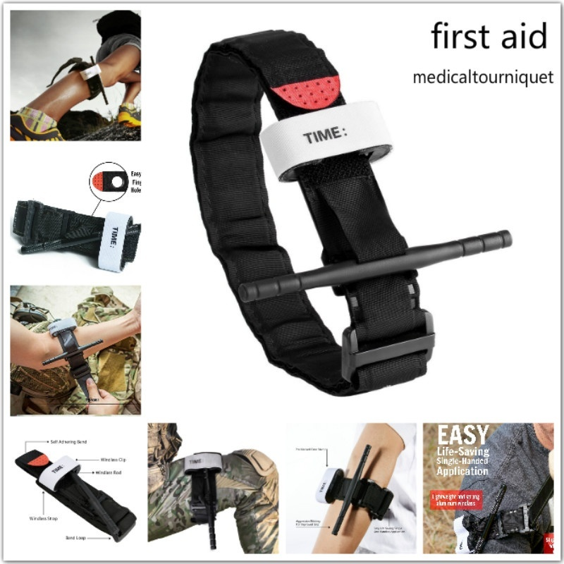 Outdoor Emergency First Aid Tourniquet Tactical Swat Medic Life Saving Hemorrhage Military Tactical Exploration Camping Hiking