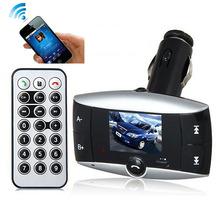 # Samochodowy odtwarzacz muzyczny Mp3 nadajnik Lcd odtwarzacz Mp3 bezprzewodowy zestaw samochodowy Bluetooth 3 1a szybki Usb bezprzewodowy Usb Fm Mp3 tanie tanio ISHOWTIENDA MP3 WAV Bateria litowa Zegar światowy 10-20 godzin Brak Hidden Voice Recorder Czysta Audio MP3 Dotykowy Tone