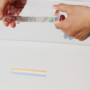 Image 5 - Prisme triangulaire Long 180x40mm BK7 K9, verre optique, enseignement de la physique, spectre lumineux réfractaire, présent aux enfants avec coffret cadeau