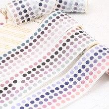 Japanese Stationery Masking-Adhesive-Tape Scrapbooking-Sticker Label Decorative Dot Diy