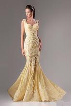 Популярное вечернее платье с аппликацией от Ханны toumajean