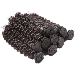 Image 3 - 36 38 40 인치 브라질 헤어 위브 번들 곱슬 인간의 머리카락 번들 1/3/4 조각 딥 웨이브 레미 인간의 머리카락 확장 여성을위한