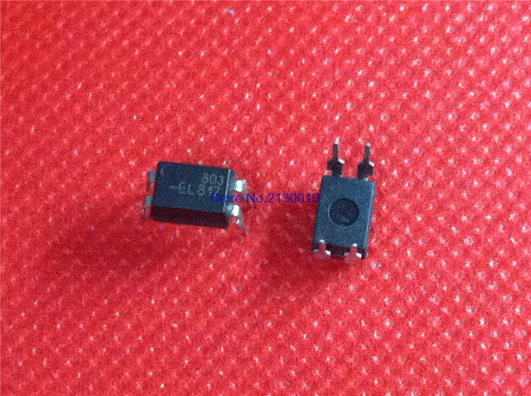 100pcs/lot EL817C DIP4 EL817 DIP PC817C PC817 Cnew And Original IC In Stock