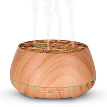 400ml Wood Grain Ultrasonic Aroma Essential Oil Diffuser with Bluetooth Wireless Music Speaker timer Aromatherapy Air Humidifier цена и фото