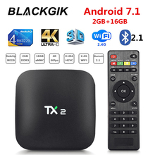 TX2 Android Smart TV BOX RK3229 2G 16GB 2.4G Wifi 4K 60fps HD H265 Media Player IPTV Set Top Box Ship from Brazil 2018 tx2 2gb 16gb rockchip rk3229 android 6 0 tv box wifi media player au plug