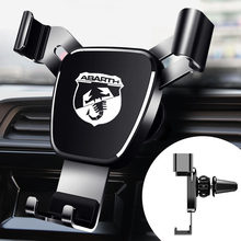 Metal Car Navigation Mobile Phone Holder Bracket Support For Fiat Abarth Punto 500 Stilo Ducato Palio Interior accessories