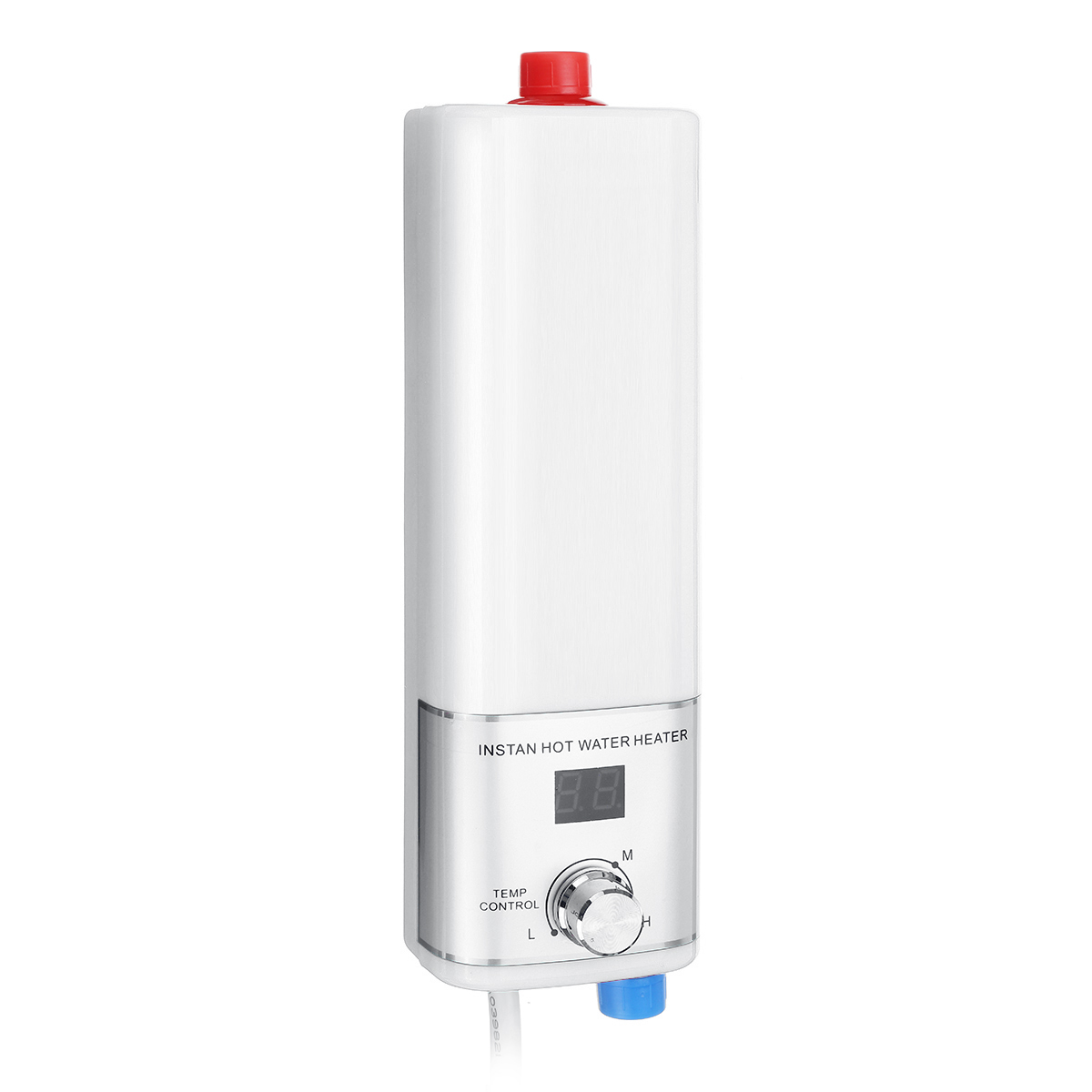 5500W Mini Instant Tankless Water Heater Electric Water Heater Indoor Shower Kitchen Bathroom Water Heater Temperature Control