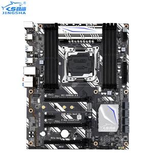 JINGSHA X99 материнская плата LGA2011-V3 V4 NVME M.2 Wifi слот LGA2011-3 USB3.0 материнская плата X99-D8 Поддержка 8 * DDR4 Xeon E5 V3 V4