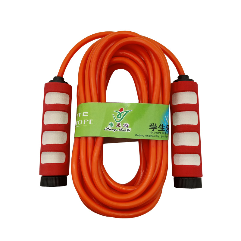 Liang Jian Manufacturers Direct Selling Sports Activity Collective Jump Rope 5 M 7 M 9 M Foam Plastic Handle Rubber Groups Lanya