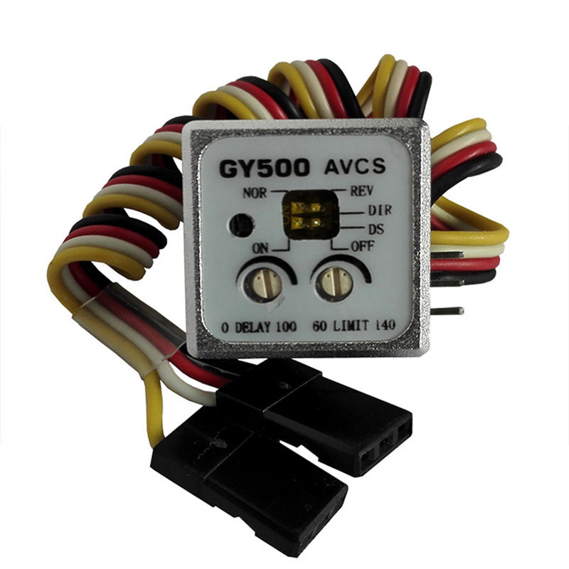 Mini Heading Locks Gyro Gyroscopes Gy 500 Avcs For RC Helicopters Car Boat Parts