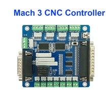 5 ציר Mach3 CNC בקר לוח עבור מכונת מנוע צעד עם USB ממשק