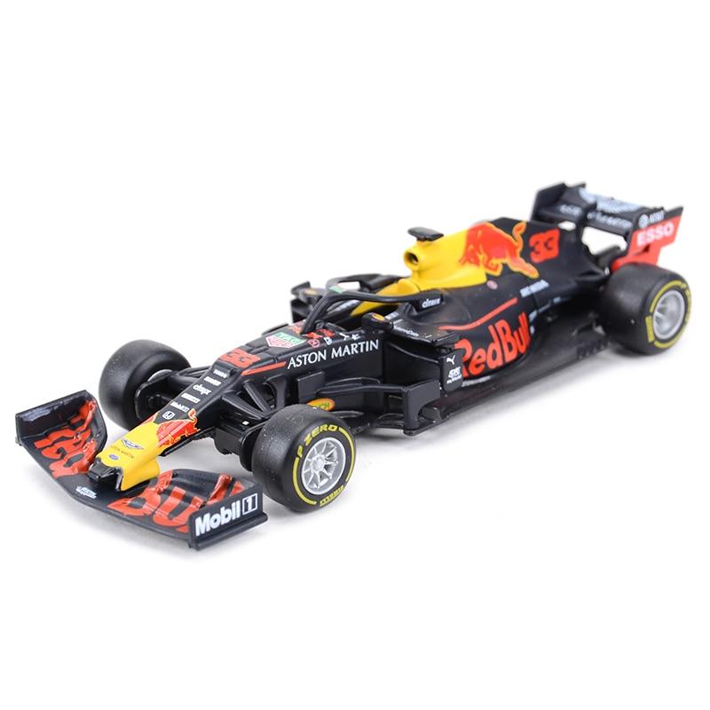 Bburago 1:43 2019 RB15 RB14 RB13 RB12 RB9 #33 #3 #1 F1 Racing Formula Car Static Simulation Diecast Alloy Model Car