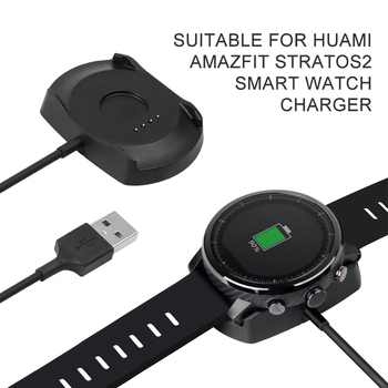 New For Amazfit 2 USB Dock Charger Adapter Fast Charging Cable Stand Data Sync Cord For Xiaomi Huami Amazfit 2 Stratos Pace 2S image