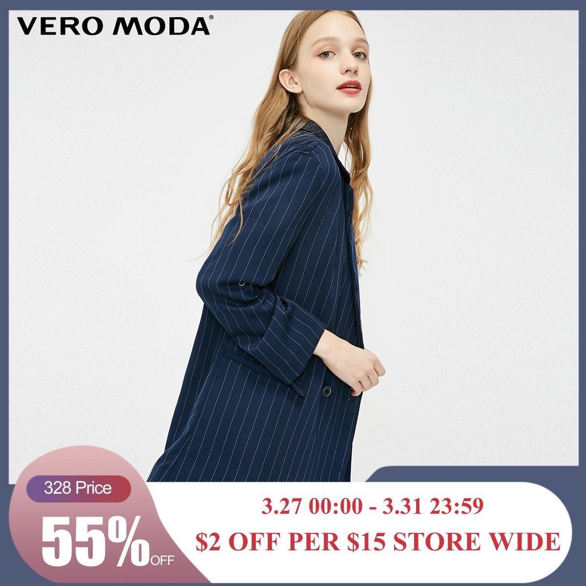 Vero Moda New Women's Double-breasted Thin Blazer | 319108503