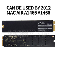 128 Macbook Air A1465 A1466 솔리드 스테이트 디스크 Md231 md232 md223 md224 하드 디스크 용 64G 256G 2012G SSD