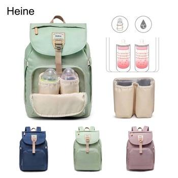 Heine Diaper bag Backpack Travel bag Casual Bag Macaron Thermos bag Portable Solid Mummy bag Nursing bag  Bebe accessories босоножки quelle heine 170362
