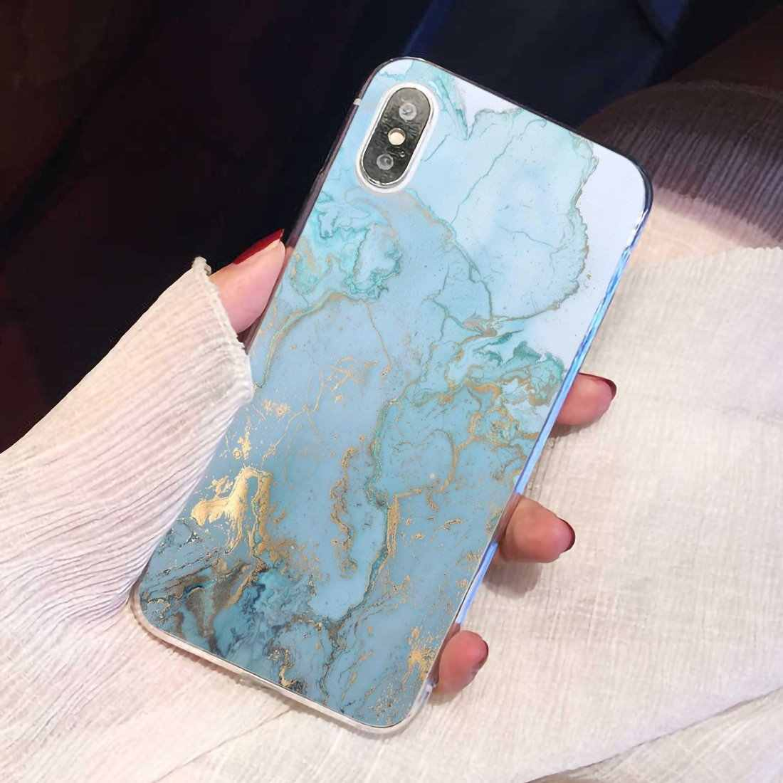 Lüks mermer taş ince silikon yumuşak TPU telefon samsung kılıfı Galaxy J1 J2 J3 J4 J5 J6 J7 J8 artı 2018 prime 2015 2016 2017