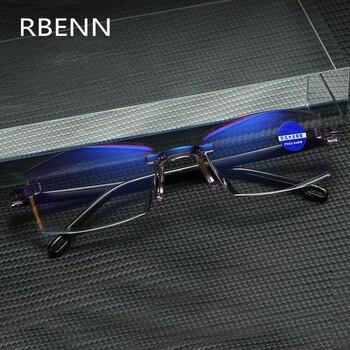 Очки RBENN без оправы с защитой от сисветильник для мужчин и женщин, аксессуар для защиты от сисветильник света, для геймеров, UV400