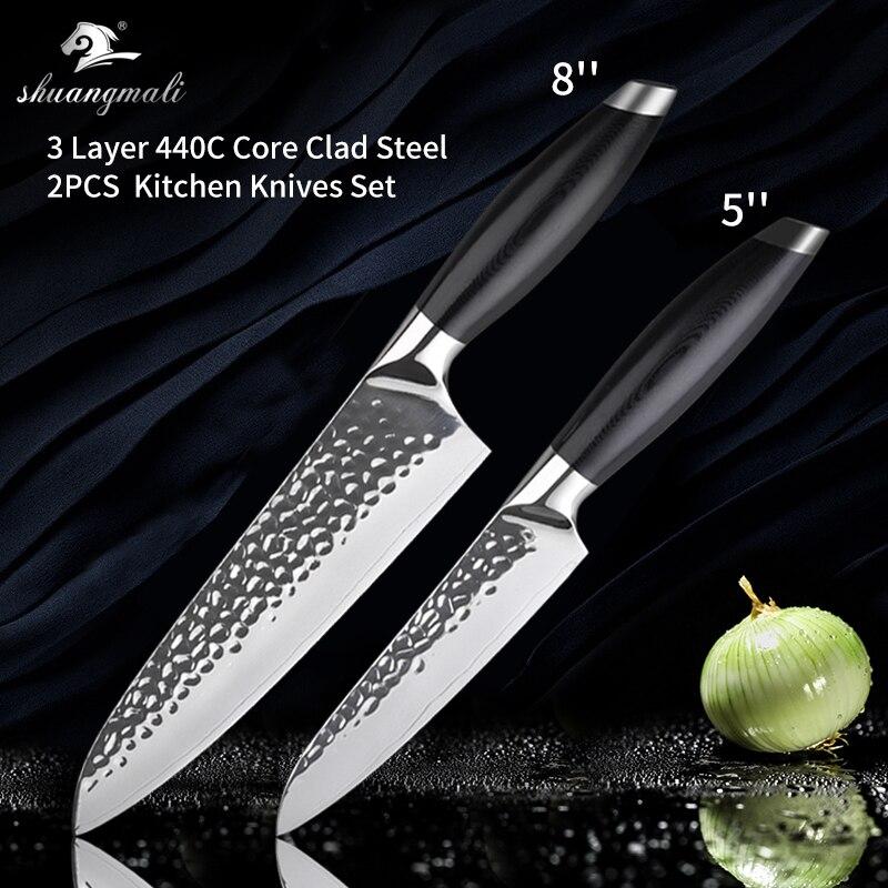 2PCS Knives Set