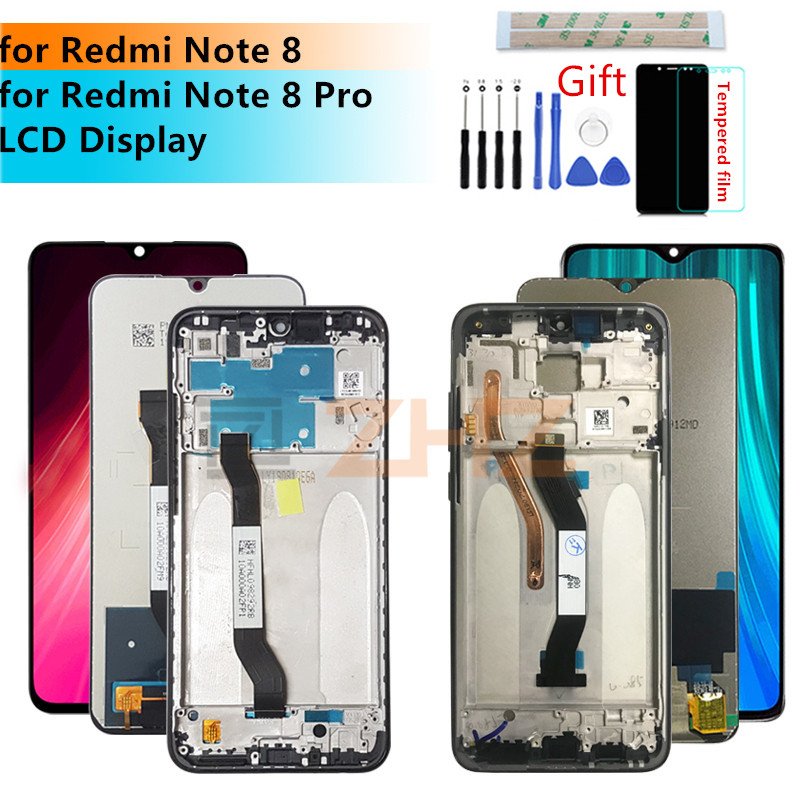 NA Replacement LCD Display+Touch Screen for Xiaomi Mi LCD Screen and Digitizer Full Assembly for Xiaomi Redmi Note 8T Black FURUMO Color : Blue