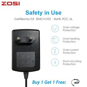 Image 1 - ZOSI DC 12V 2A EU US AU UK CCTV Video Power Supply Adapter Charger For BNC Outdoor Security Camera Video Surveillance System
