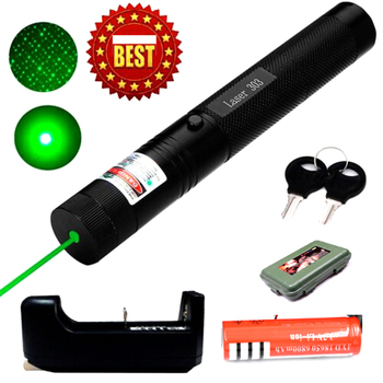 Laser Pointer High Power 532nm 303 Green Laser Pointer Pen Adjustable Burning Match With Rechargeable 18650 Battery powerful 5mw lazer pointer pen burning match green laser 303 laser pointe military 532nm choose usb charging or 18650 battery