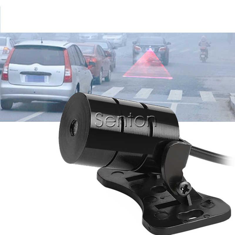 1X Auto Red Laser Tail Mistlamp Voor Honda Civic 2006-2011 Accord Fit Dio Crv Hrv Stad Jazz voor Fiat 500 Punto Tiguan 2019 2020