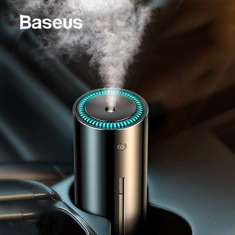 Baseus 300 ミリリットル合金空気加湿器アロマエッセンシャルオイルディフューザーのため空気清浄機ナノスプレーミュートクリーンエアケア