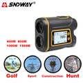 Telémetro SNDWAY para telescopio para Golf láser medidor de distancia para caza/velocidad/ángulo/deporte/Golf herramienta de medición de inclinación 1000M 1500M