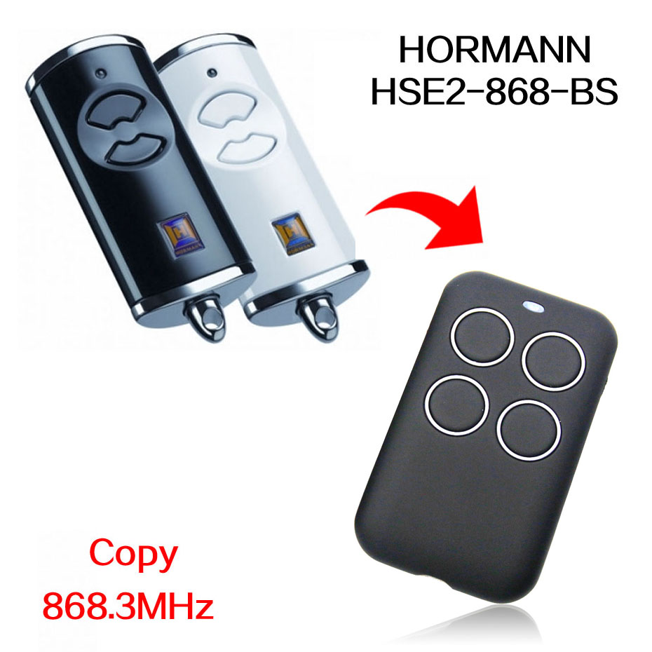 HORMANN HSE2 HSE4 868 BS Remote Control HSE5 HSE 2 4 BS 868MHz Door Remote Control 868.3MHz
