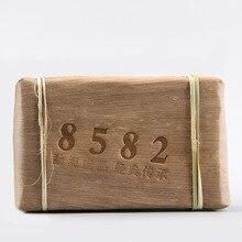 цена на 2012 Yunnan Menghai Old Tree Shen Pu-erh Classical 8582 Raw Pu'er Tea Brick 250g