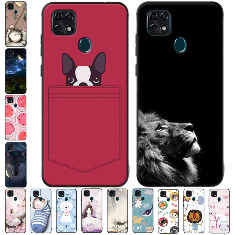 For ZTE Blade 20 Case Soft Silicone Phone Cover For ZTE Blade 20 Case Blade20 TPU Coque For ZTE Blade 20 Smart 2019 Cases 6.49''