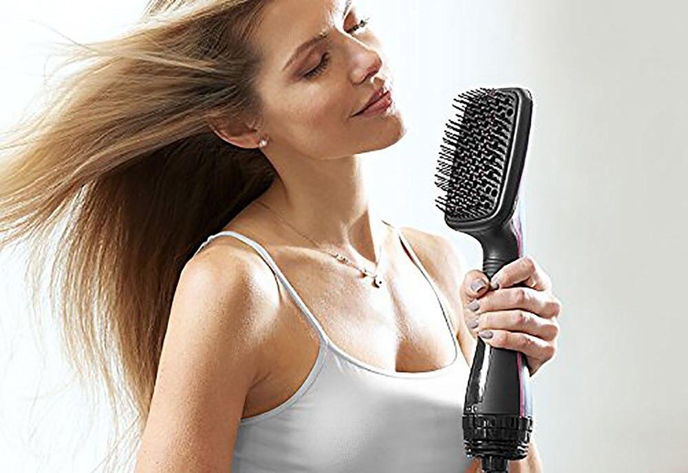 secador de cabelo profissional ventilador rotativo escova