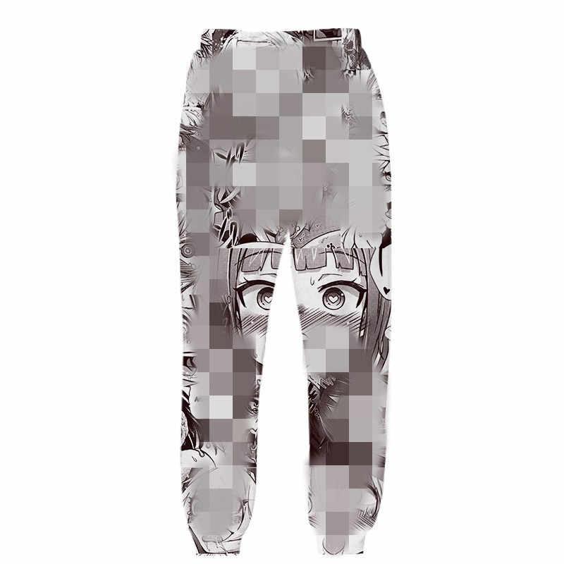 3D Ahegao Hoodies Sweatshirts Anime Mit Kapuze Männer Frauen Schüchternes Mädchen Gesicht Streetwear Sweatshirt Harajuku Übergroßen Hoodies Zip Jacken