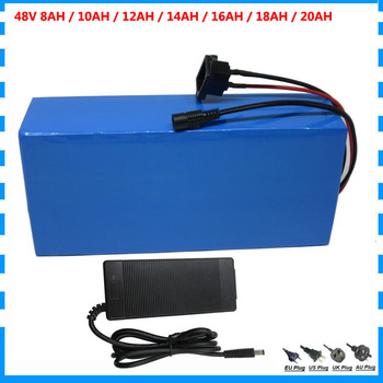 48V bateria do rowerów elektrycznych 48V 8AH 10AH 12AH 14AH 16AH 18AH 20AH akumulator litowo-jonowy z BMS 54 6V 2A ładowarka bezpłatna opłata celna tanie i dobre opinie CYGEREEN 10-20ah 48 v Lithium Battery 48V 8AH 10AH 12AH 14AH 16AH 18AH 20AH Max 48V 600W 800W 1200W Can be customized