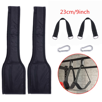 Fitness AB Sling Straps Suspension Rip-Resistant Heavy Duty Pair for Pull Up Bar Hanging Leg Raiser Home Gym Fitness Equipment 10