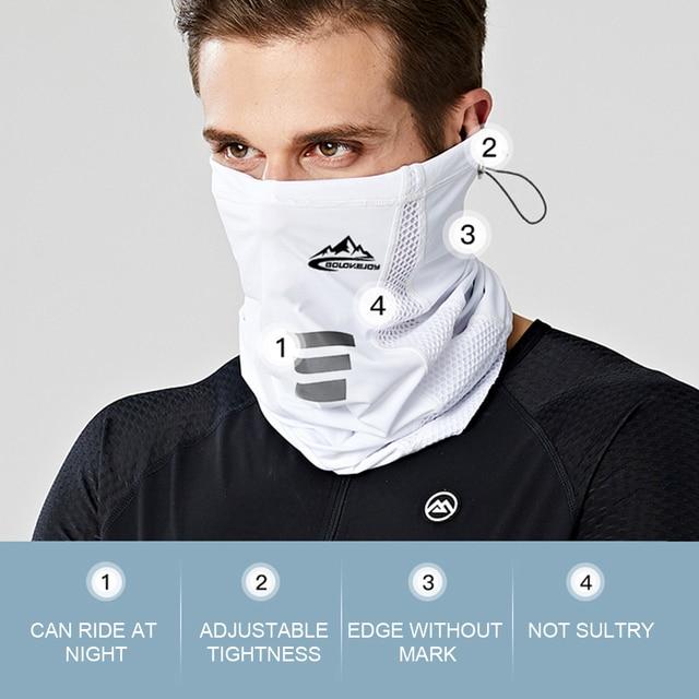 Silk Half Face Mask 2