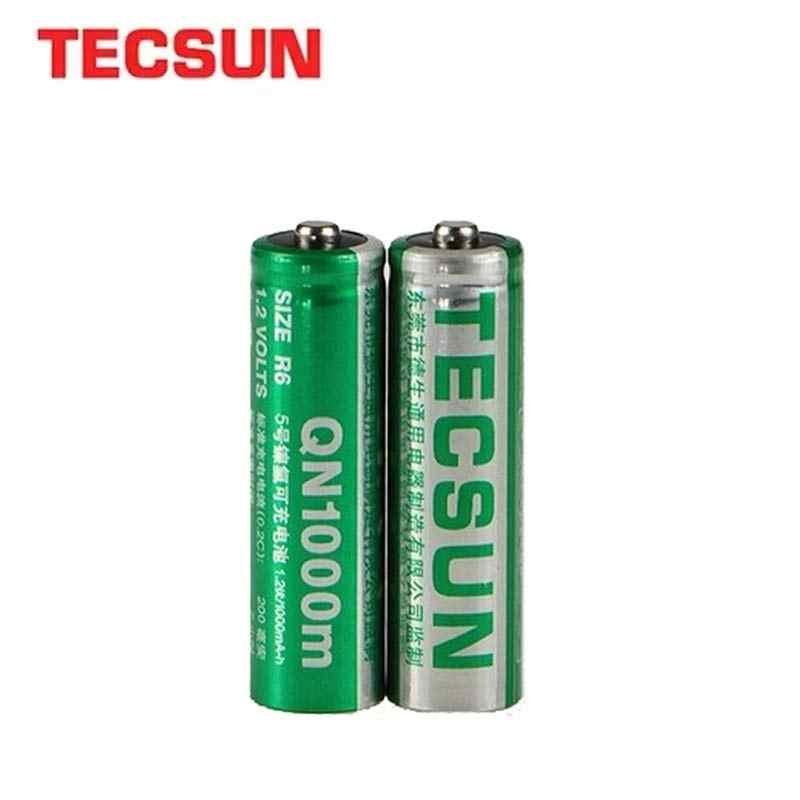 TECSUN Akku 2 Stück/3 Stück AA NIMH QN1000 mAh 1,2 V Für TECSUN PL-660, 600,380,310,398 Radio