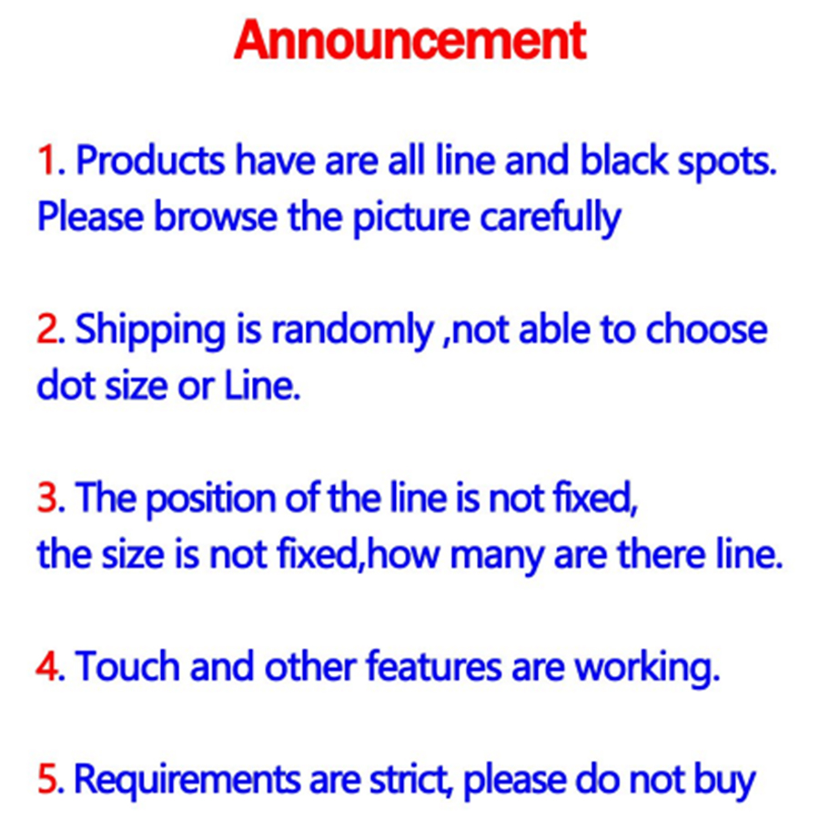 Image 5 - For Samsung S8 LCD Display Touch S8 Plus LCD Display For Samsung  S9 Plus LCD band line display mobile phone defective screenMobile Phone  LCD Screens
