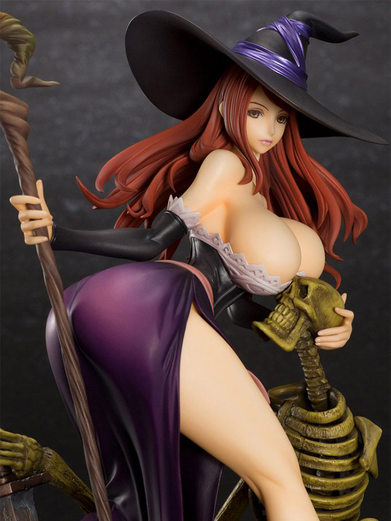 21cm Action Toy Orchid Seed Sorceress sexy Action Figure PVC Collection Sexy girl Witch Model toys brinquedos for gift