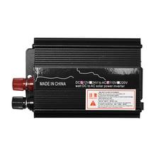 Transformador de tensão de Pico 3000W DC 12/24V para AC 110 V/220 V Carro LEVOU Energia Solar conversor de potência Do Inversor de Onda Senoidal USB Sobrecarga Proteger