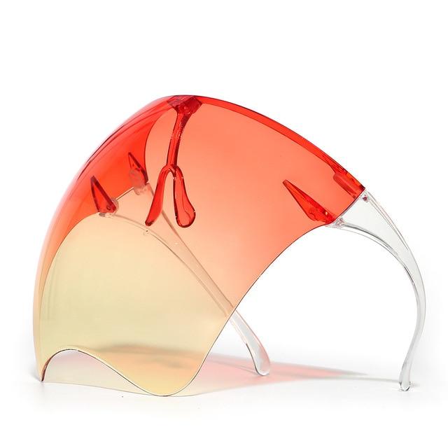 Blocc Protective Face-Shield Full Cover Visor Glasses/Sunglasses Anti-Spray Mask Protective Goggle Glass Sunglasses 4